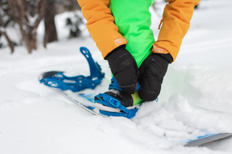 How to Strap Into a Snowboard