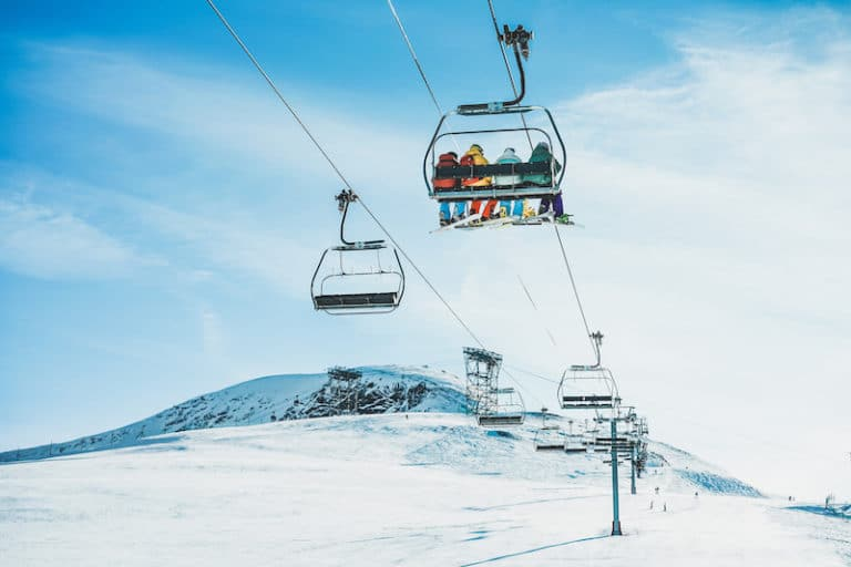 How to Get On and Off a Ski Lift