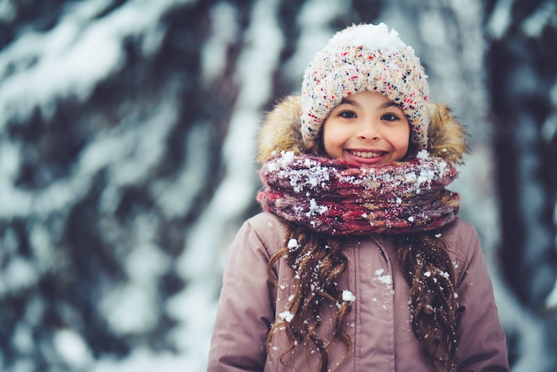 Dressing Kids in Scarves, Hats, and Gloves