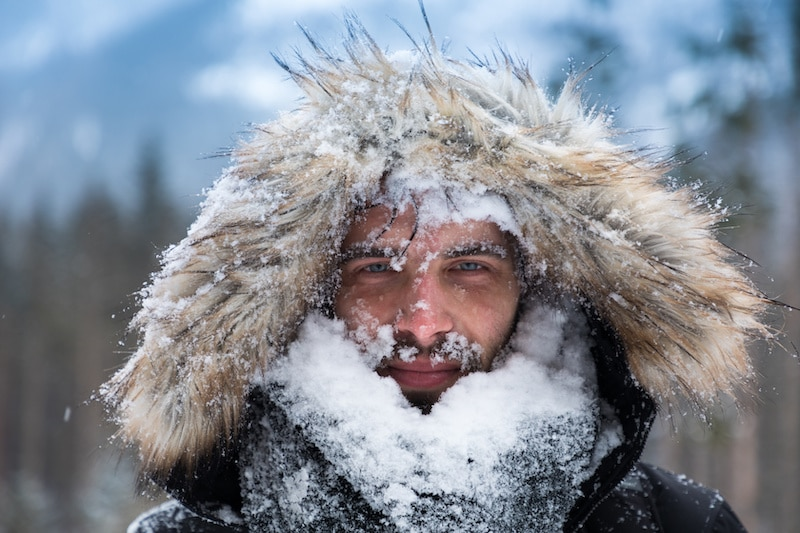 frostbite often occurs alongside hypothermia