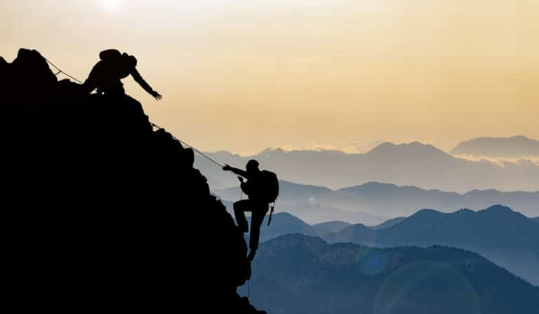 if you want to go mountain climbing, you need to train properly beforehand